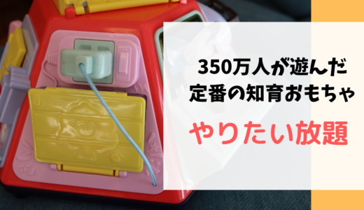 赤ちゃんへのおもちゃにオススメ!知育おもちゃのいたずら1歳 やりたい放題ビッグ版リアル+ (リアルプラス)をレビュー