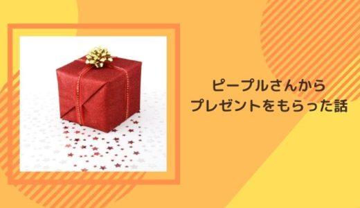【雑記】ピープルさんの「4ヶ月~7ヶ月のおもちゃ箱プレゼント企画」に当選したよ!!